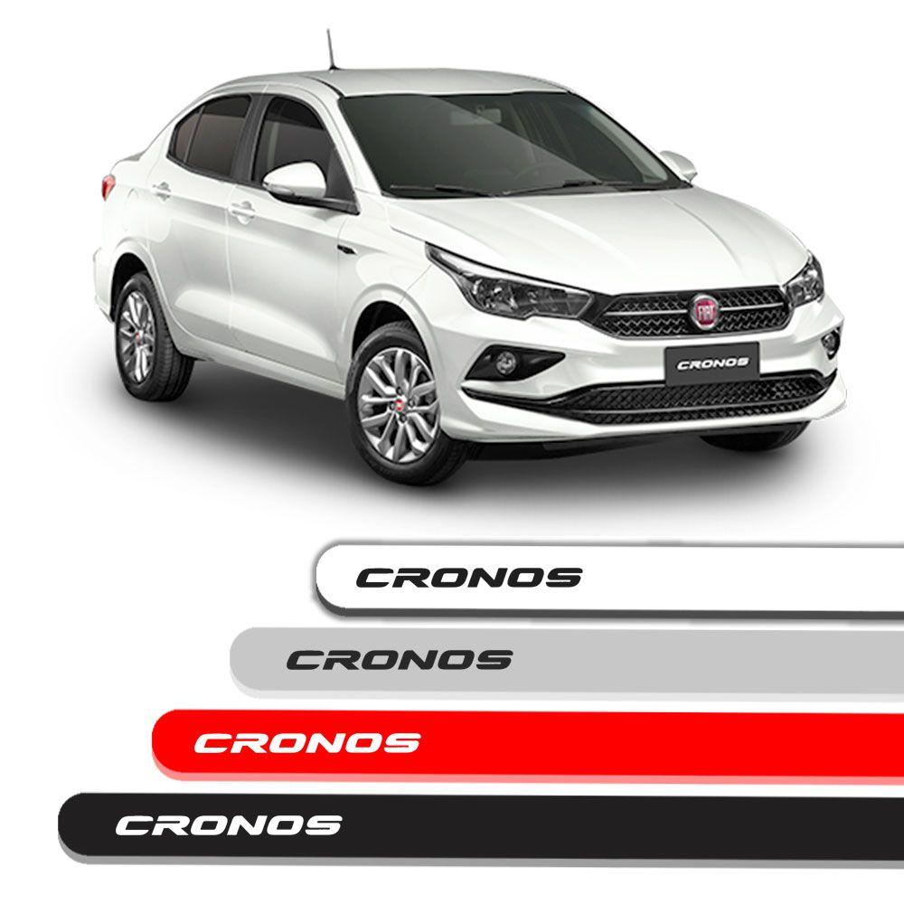 Friso Lateral Personalizado Para Fiat Cronos 2018