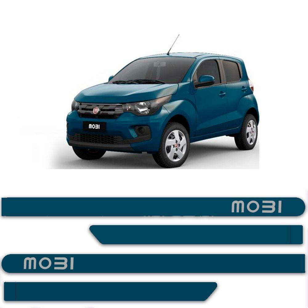 Friso Lateral Personalizado Para Fiat Mobi 2018 2019