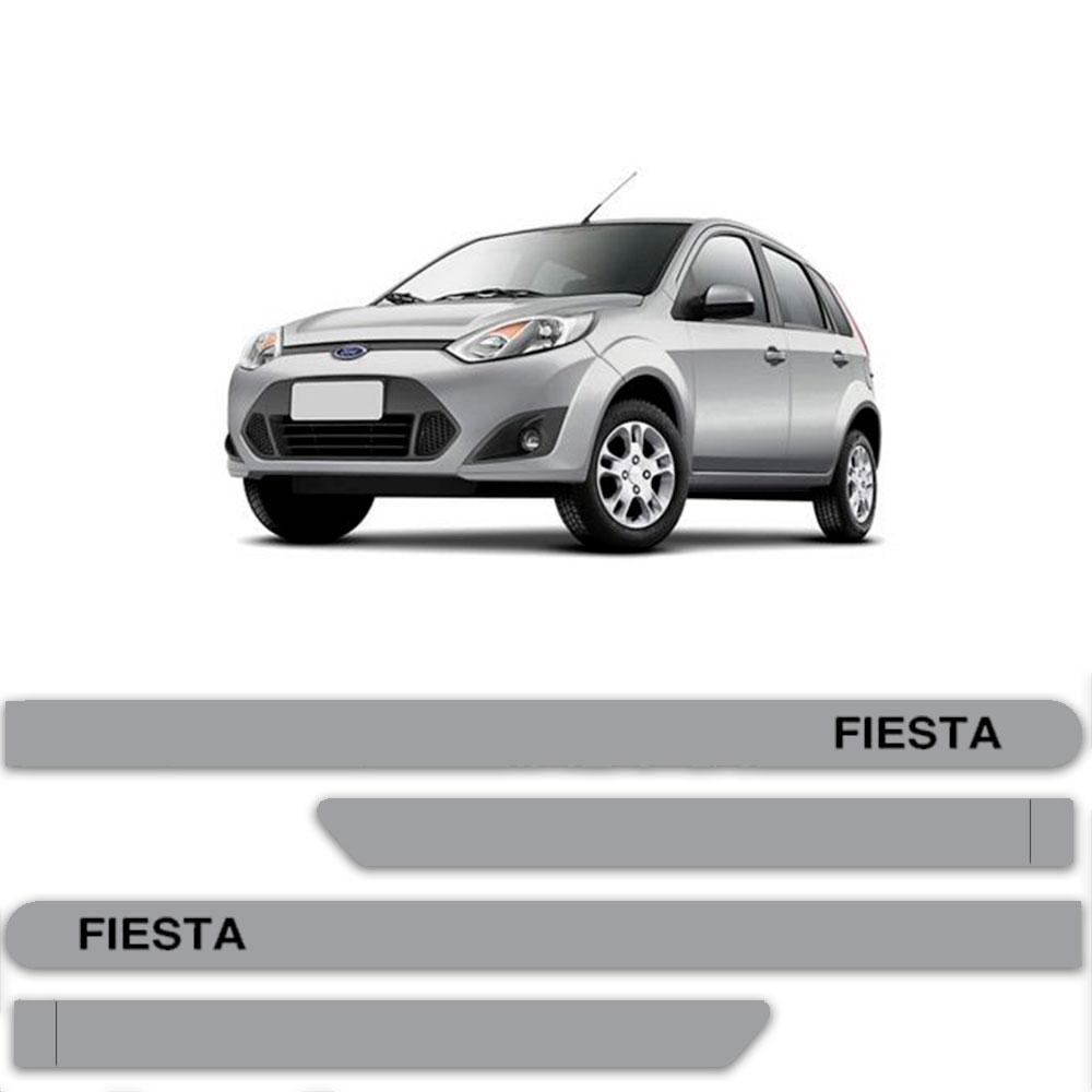 Friso Lateral Personalizado Para Ford Fiesta Rocam e Sedan