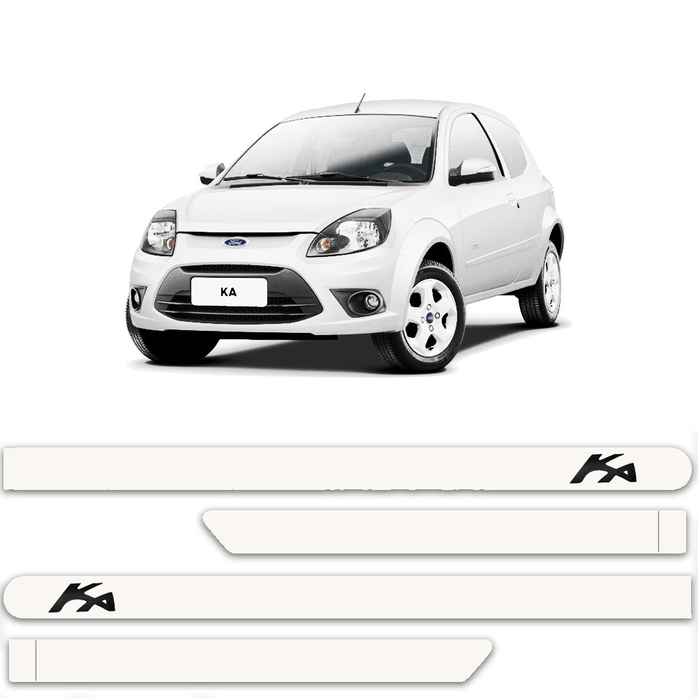 Friso Lateral Personalizado Para Ford Ká