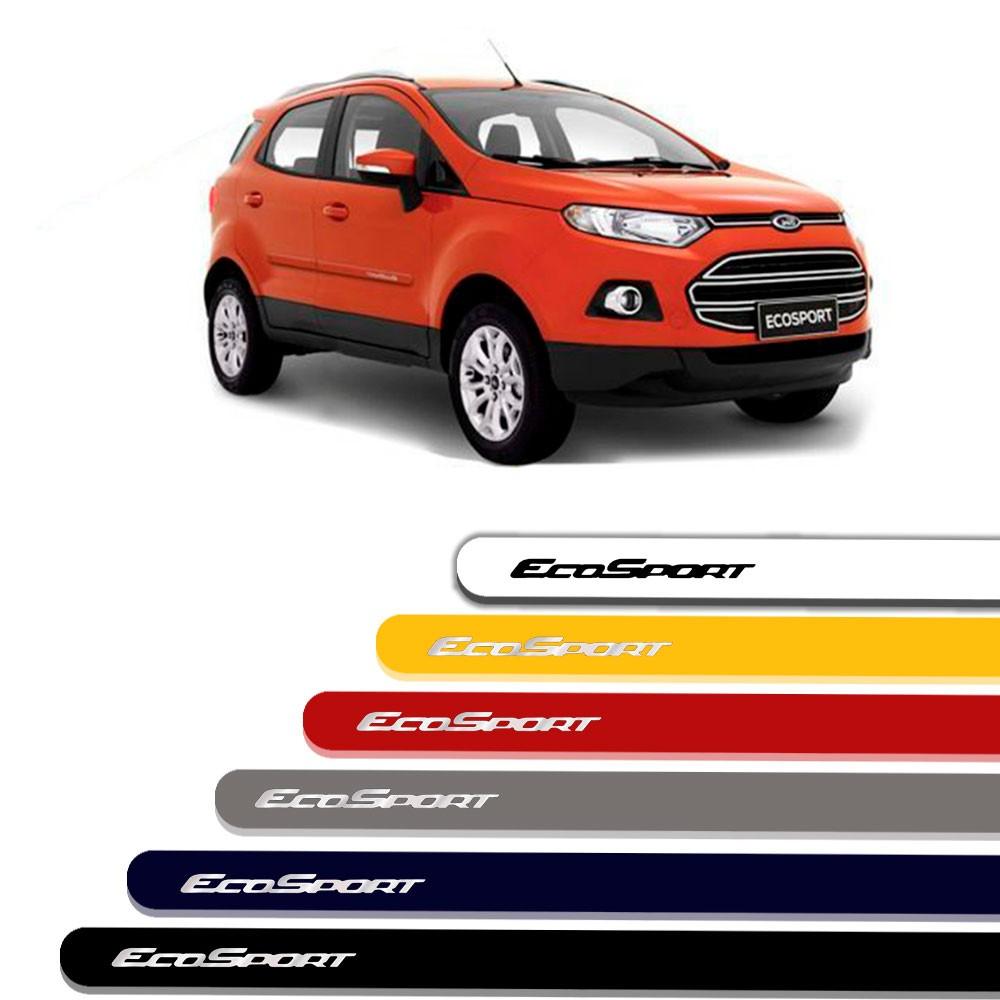 Friso Lateral Personalizado Para Ford Nova EcoSport