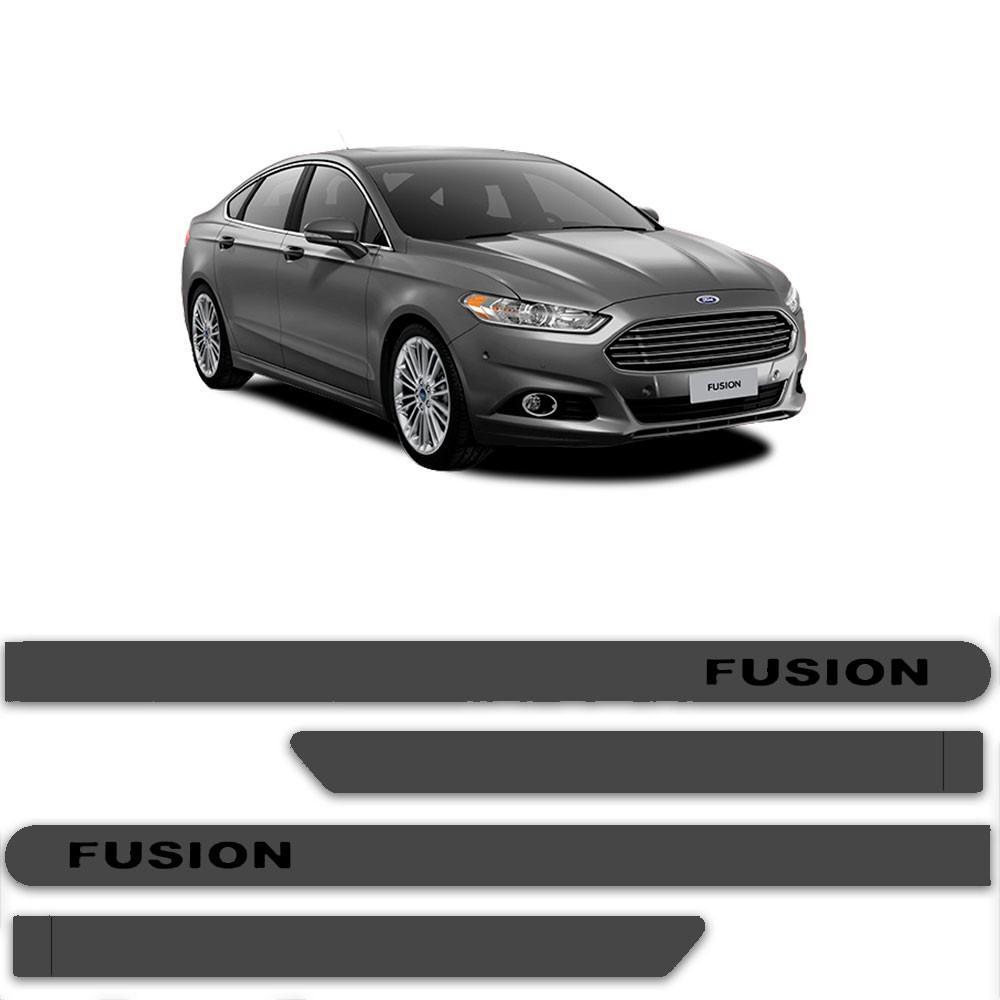 Friso Lateral Personalizado Para Ford  Novo Fusion