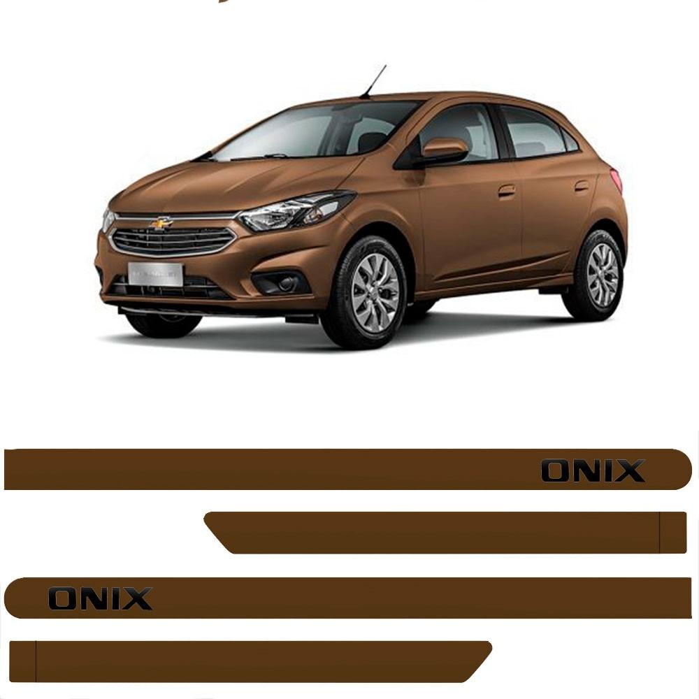 Friso Lateral Personalizado Para GM Onix