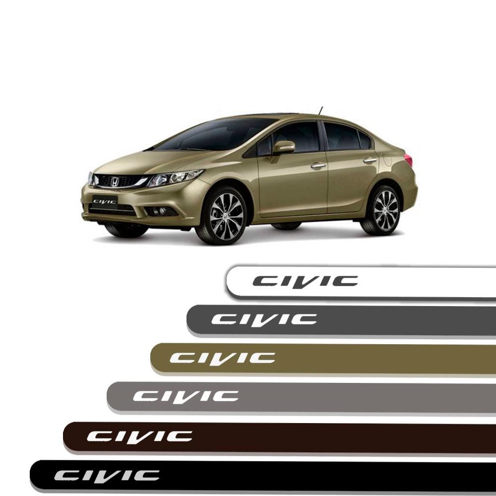 Friso Lateral Personalizado Para  Honda Civic