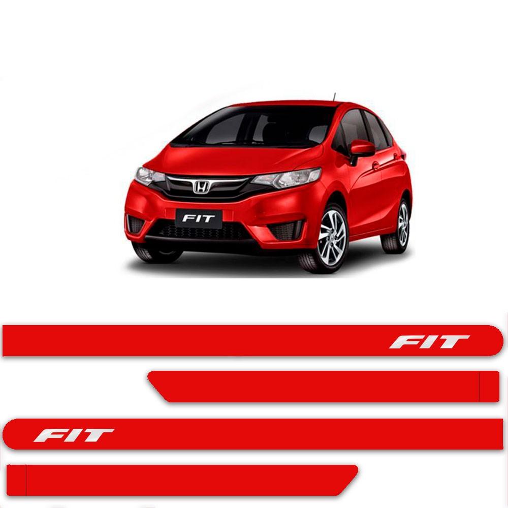 Friso Lateral Personalizado Para  Honda New Fit