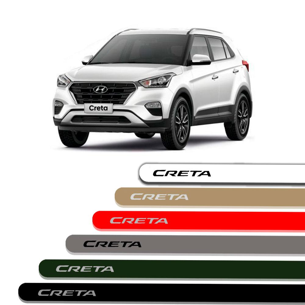 Friso Lateral Personalizado Para Hyundai Creta 2018 2019