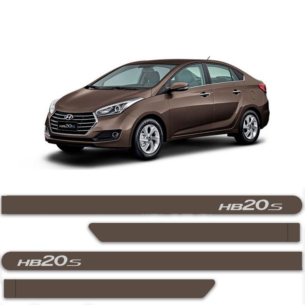 Friso Lateral Personalizado Para Hyundai HB20s  Sedan