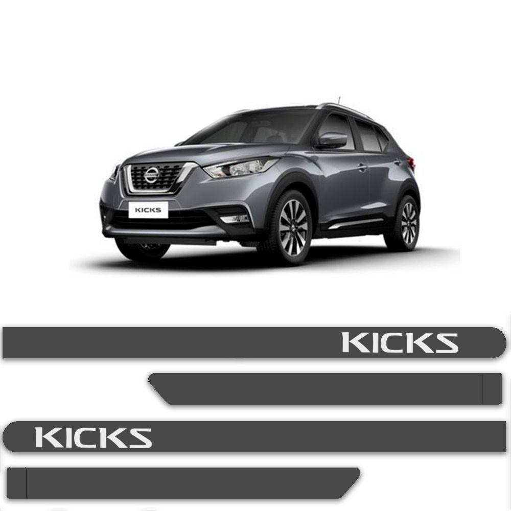 Friso Lateral Personalizado Para Nissan Kicks