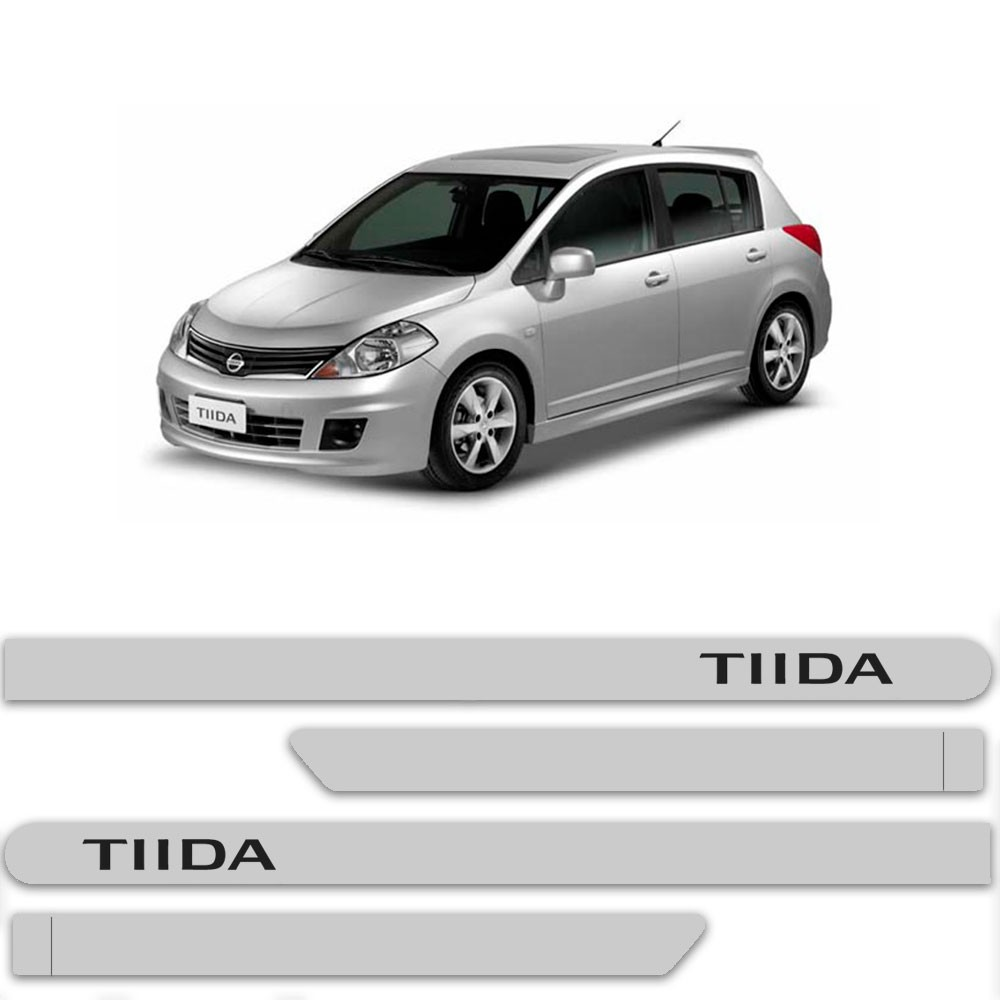 Friso Lateral Personalizado Para Nissan Tiida