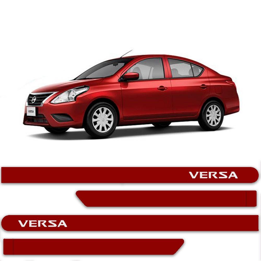Friso Lateral Personalizado Para Nissan Versa