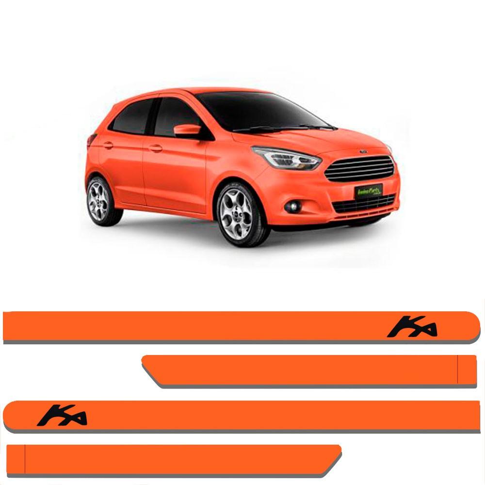 Friso Lateral Personalizado Para Novo Ford Ká