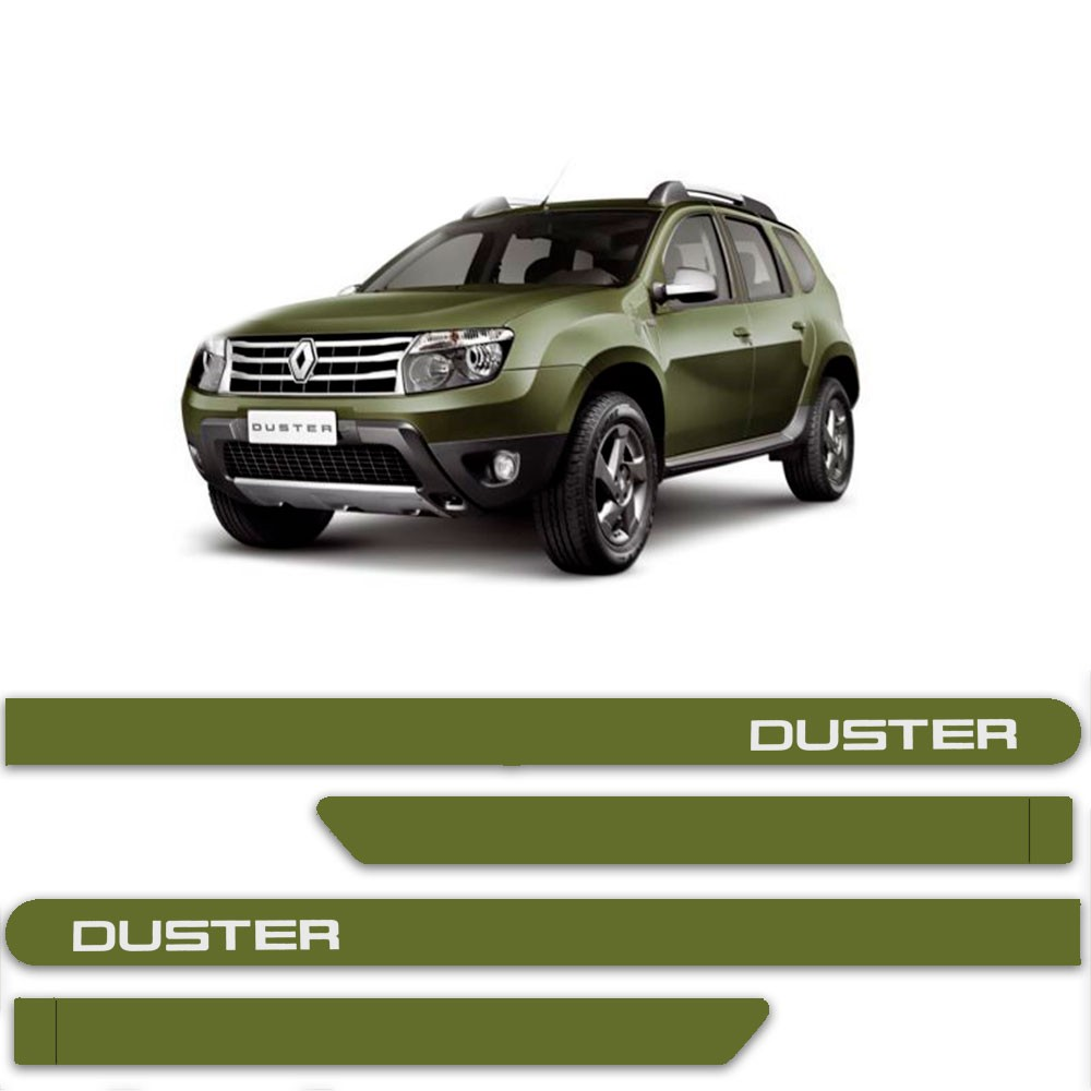 Friso Lateral Personalizado Para Renault Duster