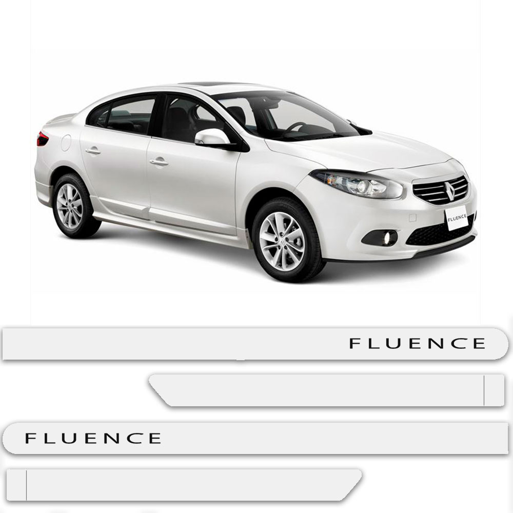 Friso Lateral Personalizado Para Renault Fluence