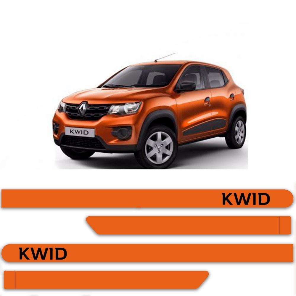 Friso Lateral Personalizado Para Renault Kwid