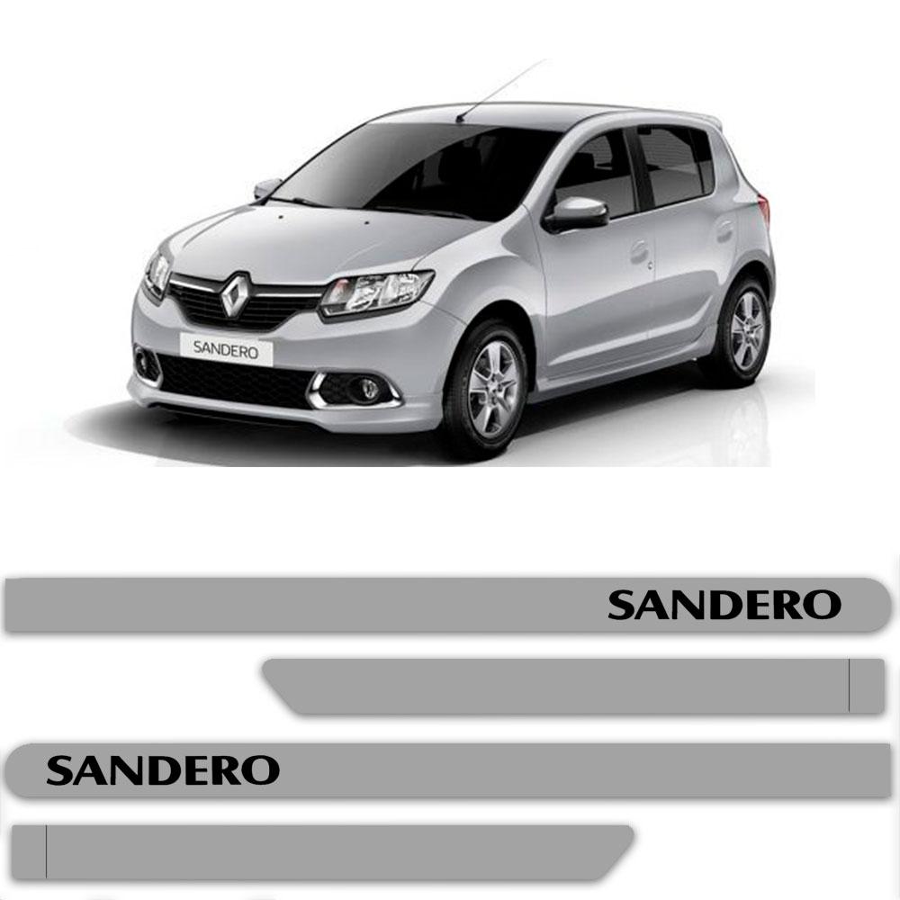 Friso Lateral Personalizado Para Renault Sandero