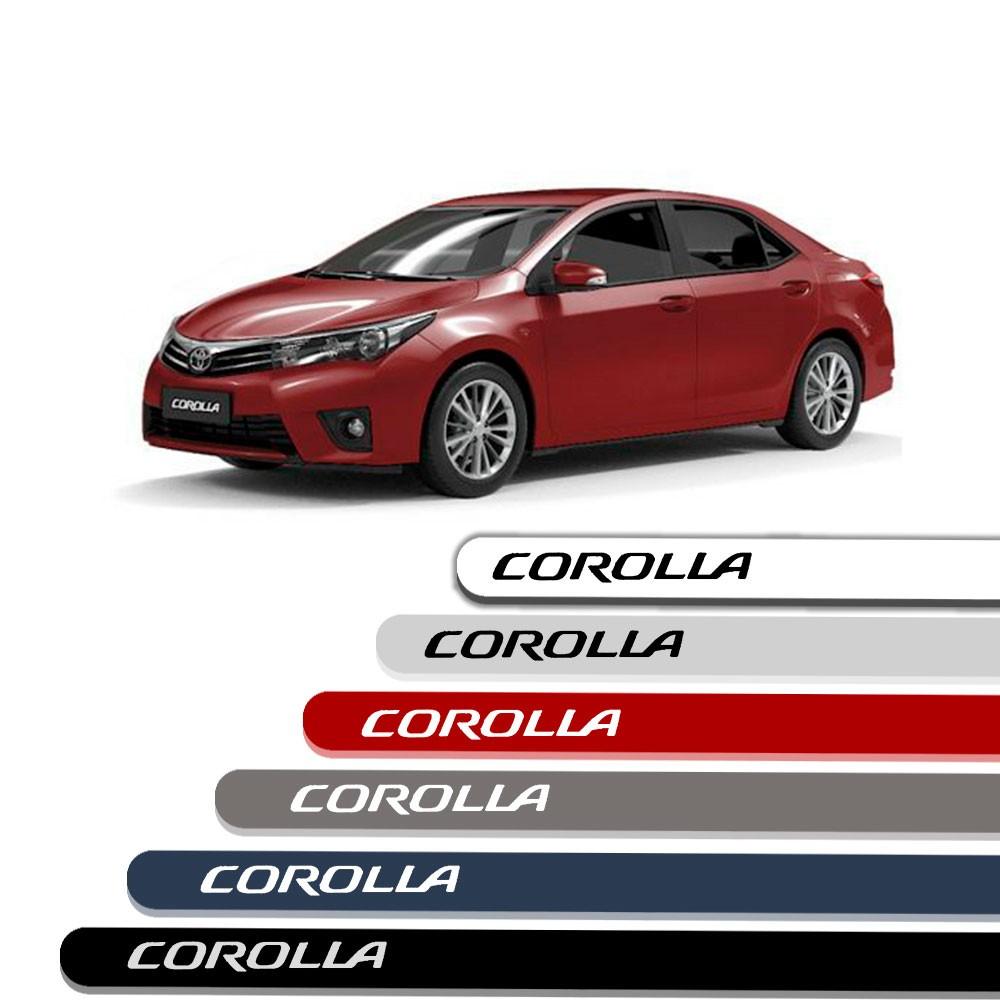 Friso Lateral Personalizado Para Toyota Corolla