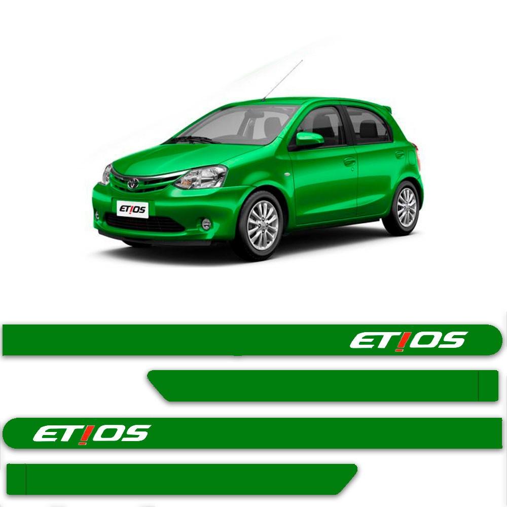 Friso Lateral Personalizado Para Toyota Etios