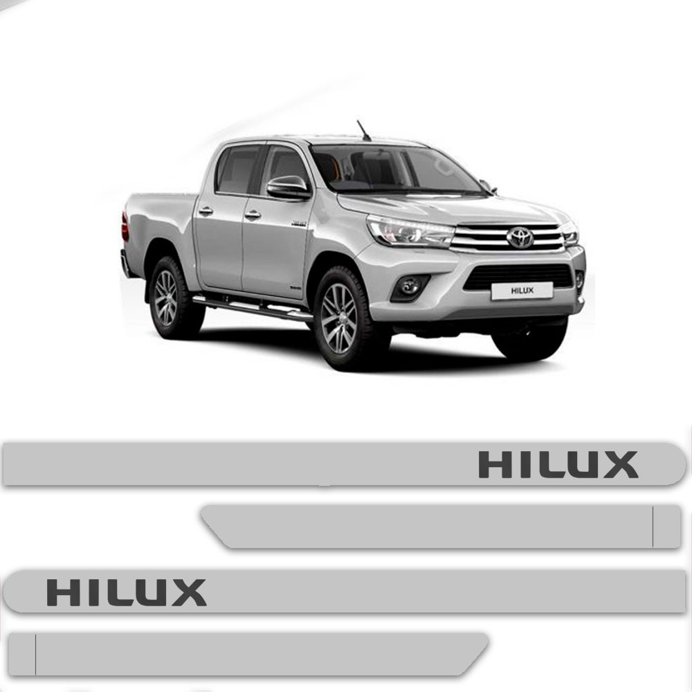 Friso Lateral Personalizado Para Toyota Hilux