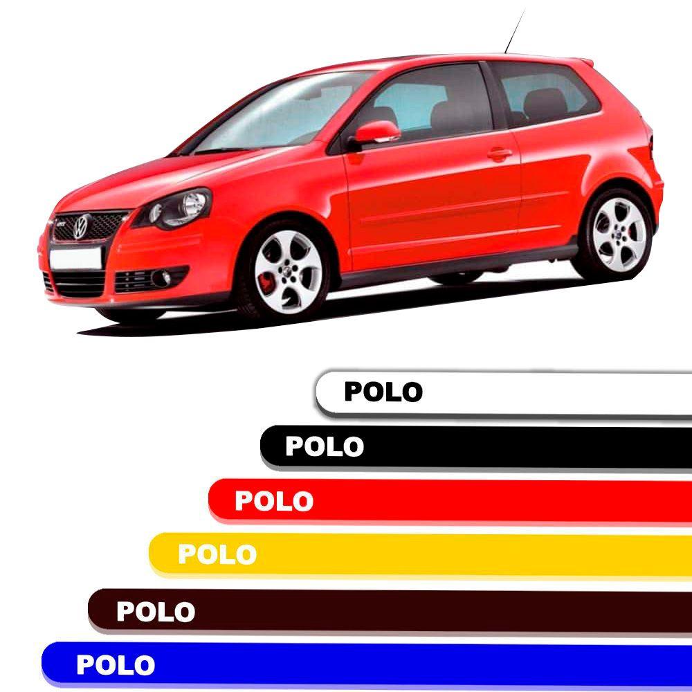 Friso Lateral Personalizado Para Volkswagen Polo