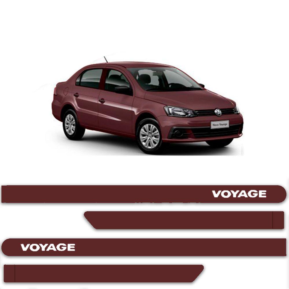 Friso Lateral Personalizado Para  Volkswagen Voyage