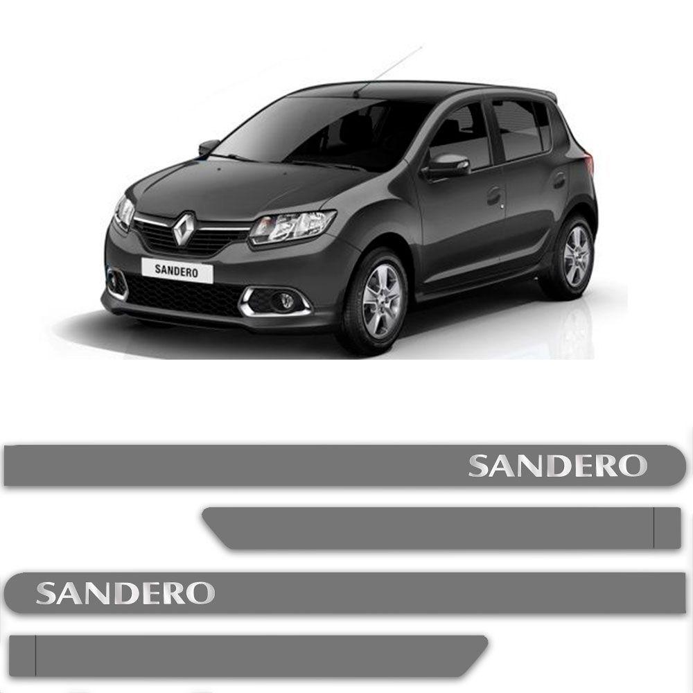 FRISO SANDERO CINZA ACIER C/4 PÇS - RN6345CZA
