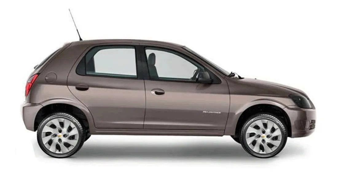 Calota Jogo 4Pçs Chevrolet Corsa Classic Celta Prisma Aro 13 G140J