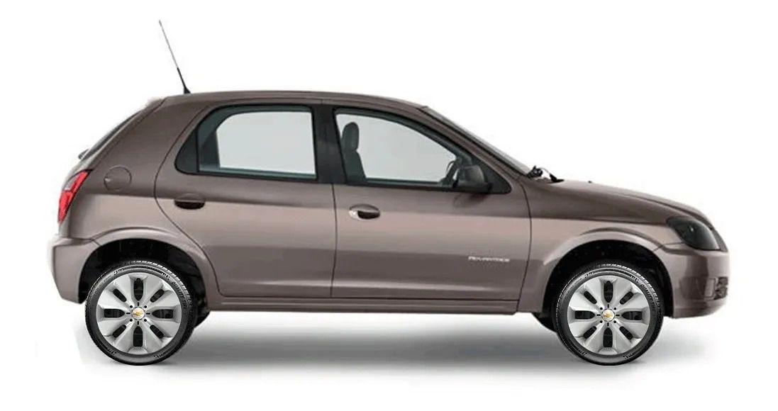 Calota Jogo 4Pçs Chevrolet Spin Meriva Corsa Aro 15 G130J