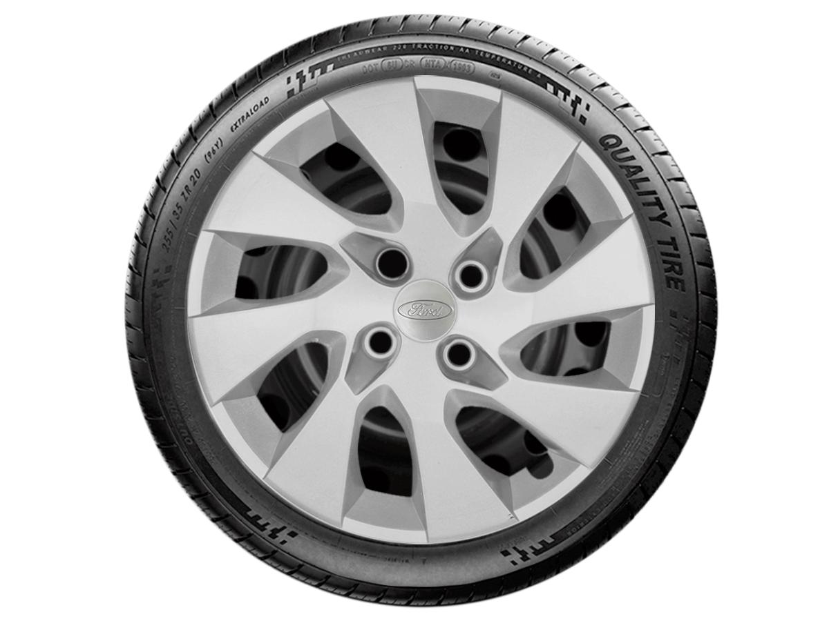 Jogo Calota Aro 14 Ford Ka Hatch Sedan 2016 2019 G133JE