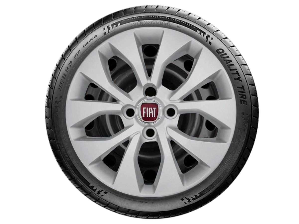 Jogo Calota Aro 15 Fiat Palio Siena Argo 2017 2019 G375JE