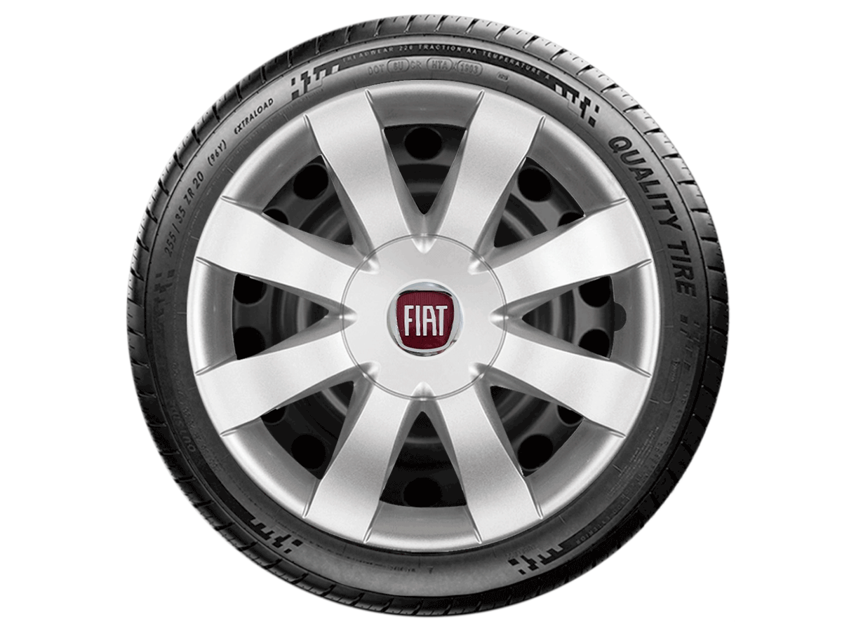 Jogo Calota Aro 15 Fiat Palio Siena Argo 2017 2019 G875JE