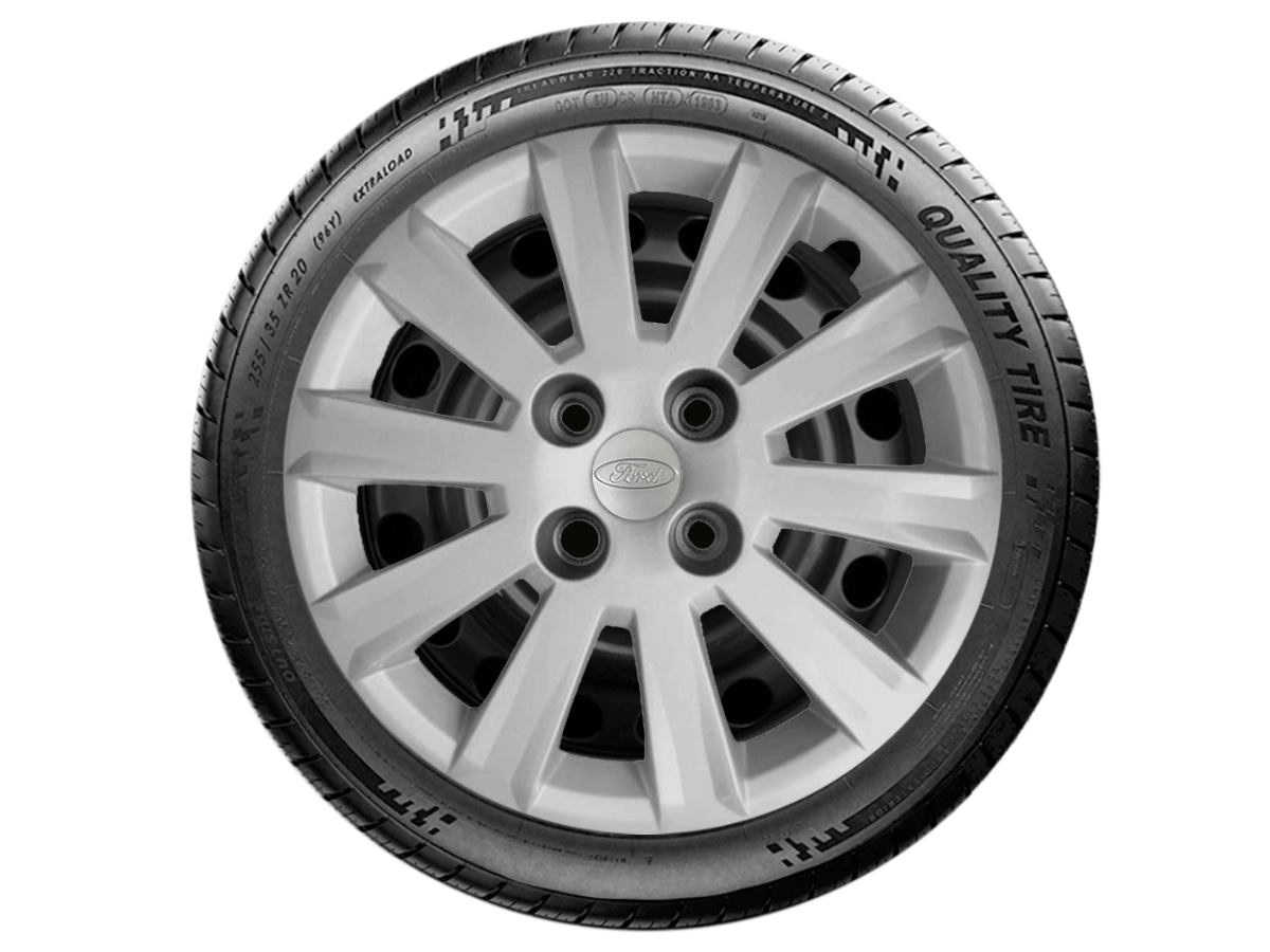 Jogo Calota Aro 15 Ford Ka Hatch Sedan 2016 2019 G018JE