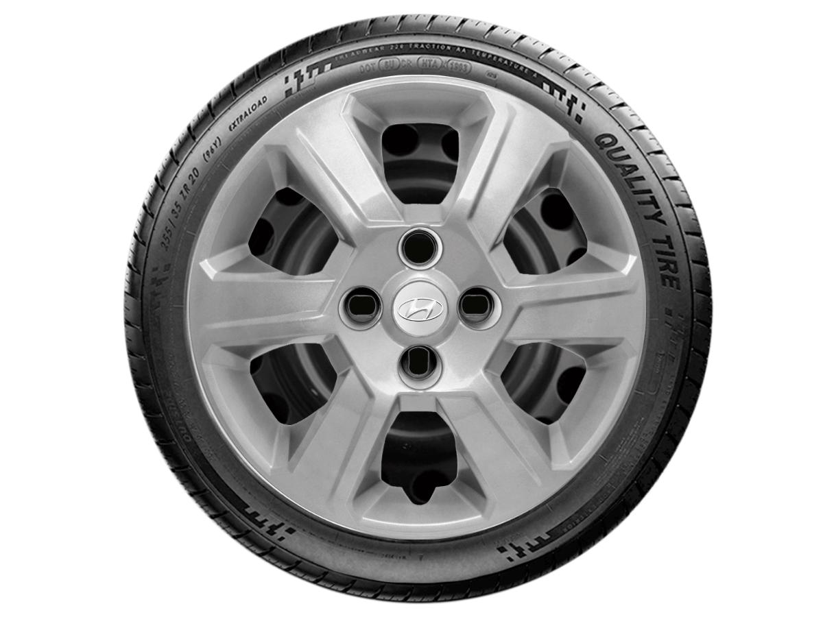 Jogo Calota Aro 15 Hyundai Hb20 Hatch Sedan 2013 2020 G084JE