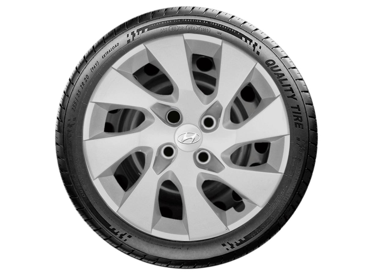 Jogo Calota Aro 15 Hyundai Hb20 Hatch Sedan 2013 2020 G195JE