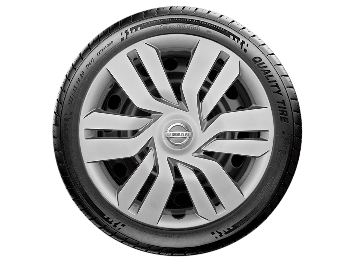 Jogo Calota Aro 15 Nissan March Versa 2013 2020 G120JE