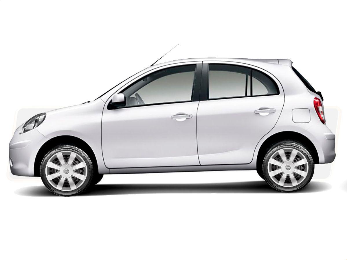 Jogo Calota Aro 15 Nissan March Versa 2013 2020 G875JE