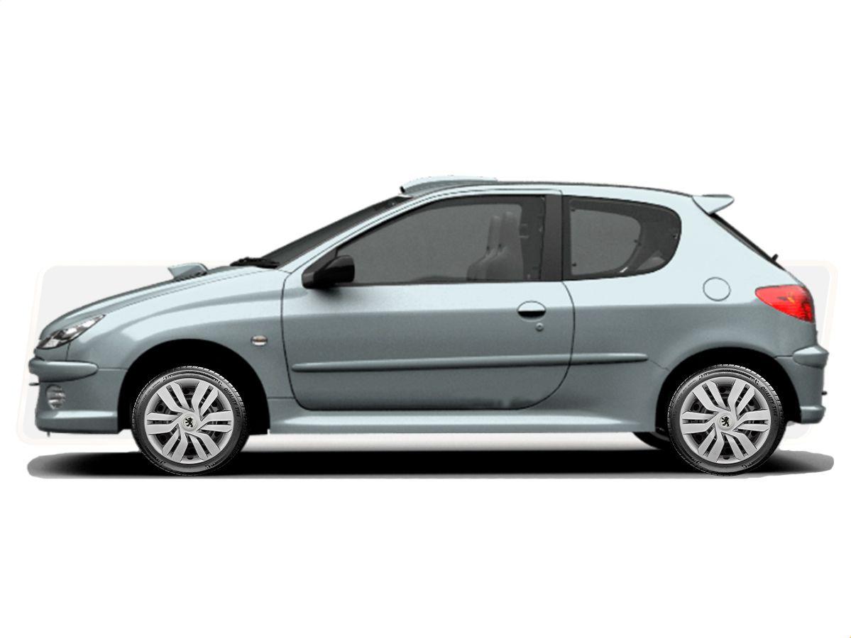 Jogo Calota Aro 15 Peugeot 208 307 306 206 207 G120JE