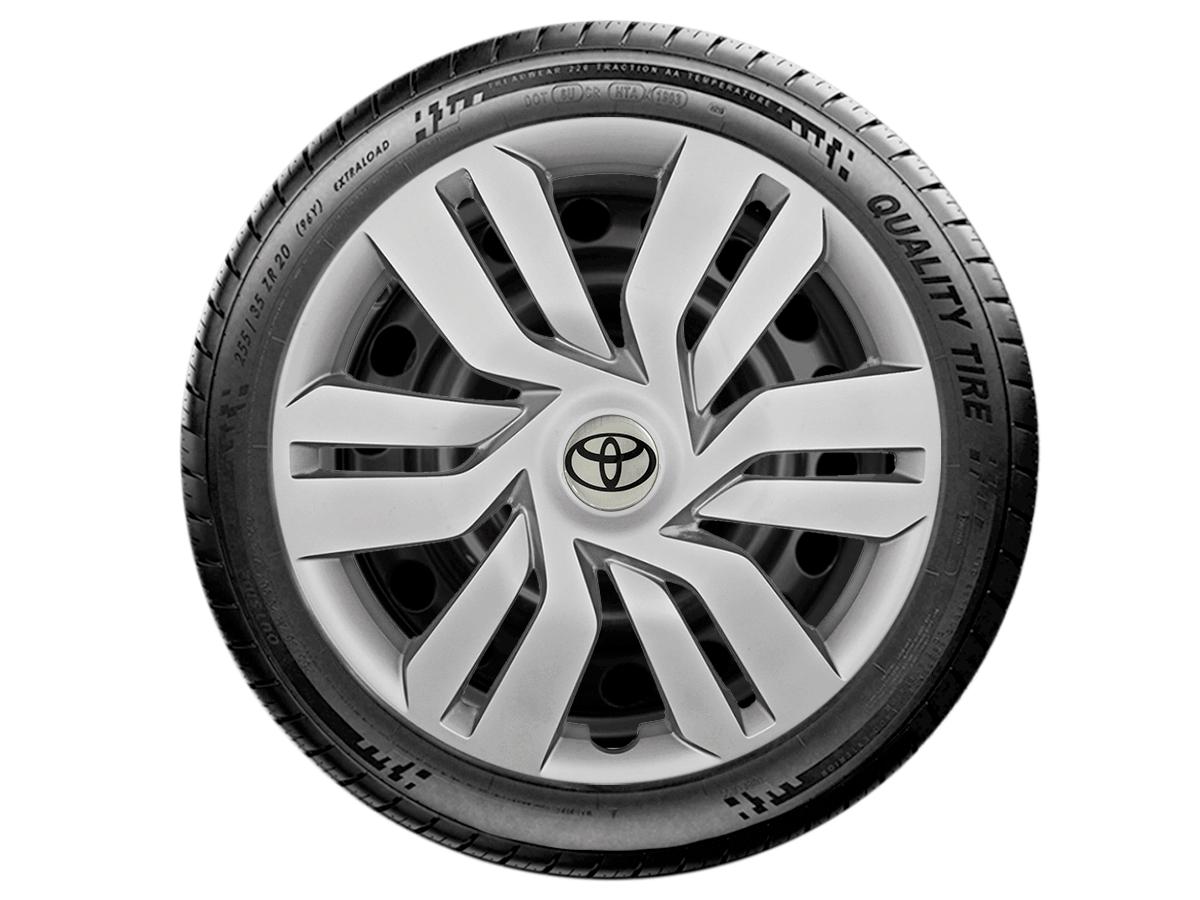 Jogo Calota Aro 15 Toyota Etios Sedan Hatch G120JE