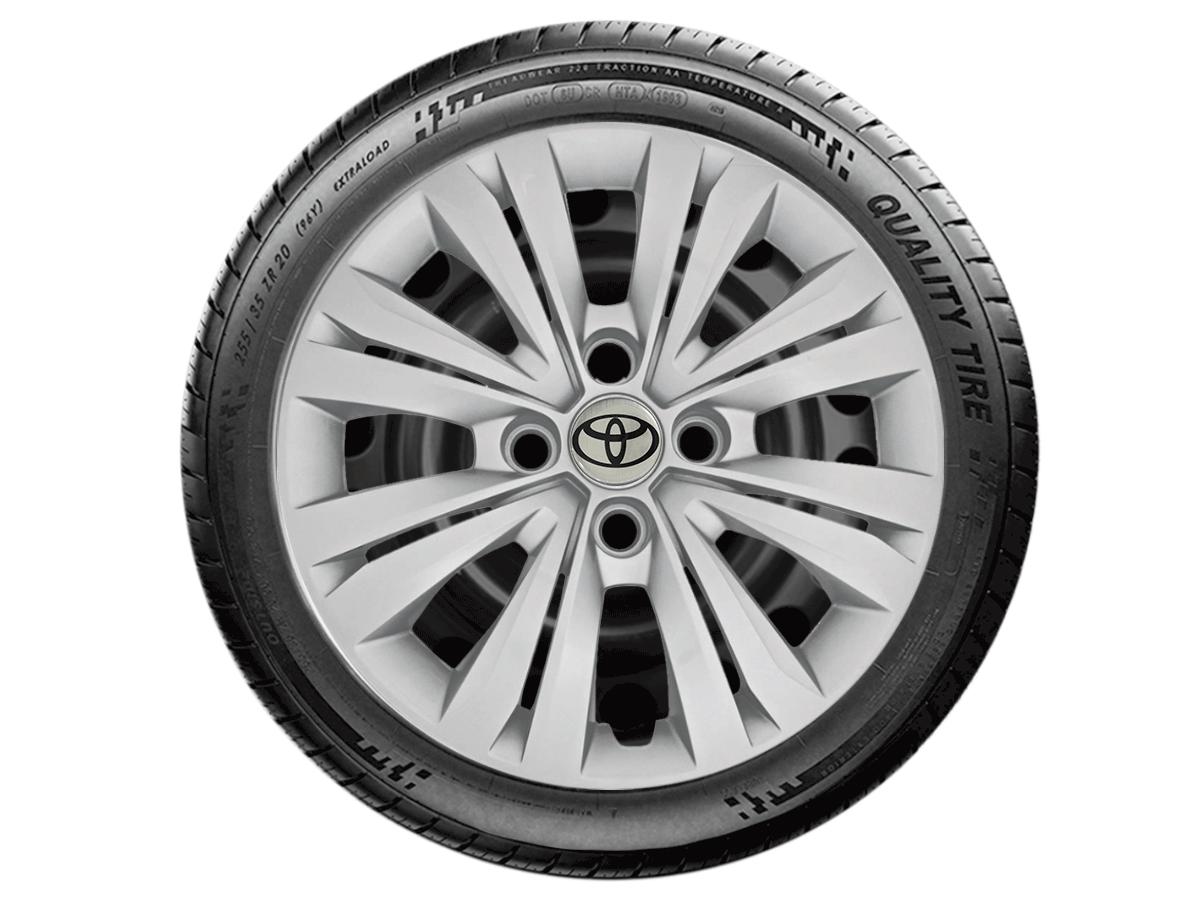 Jogo Calota Aro 15 Toyota Etios Sedan Hatch G246JE