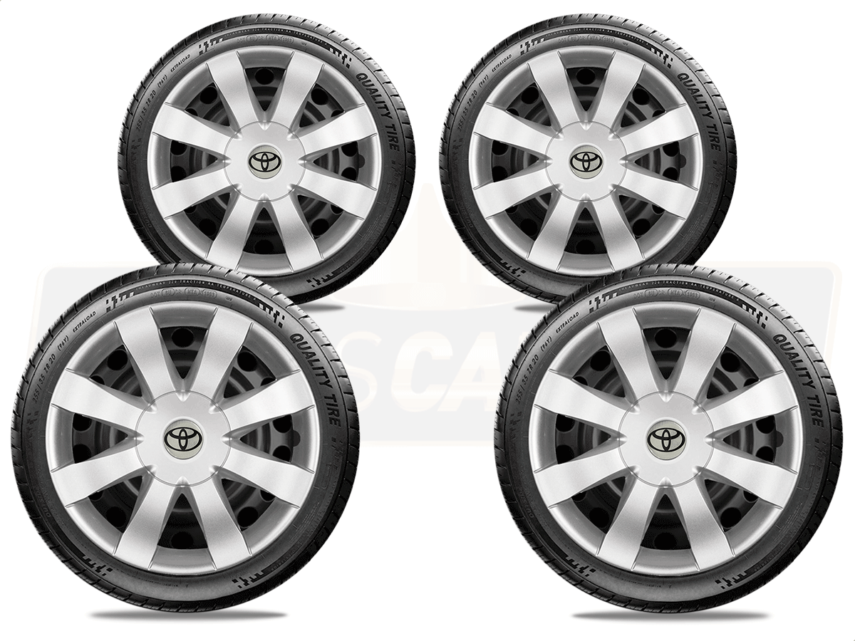 Jogo Calota Aro 15 Toyota Etios Sedan Hatch G875JE