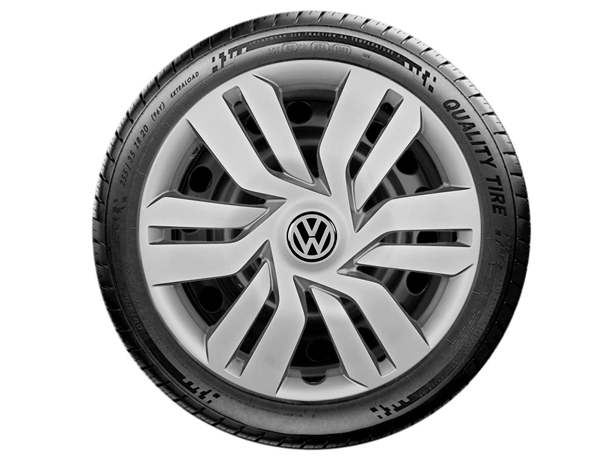 Jogo Calota Aro 15 Volkswagen Gol Voyage G4 G5 Parati G120JE