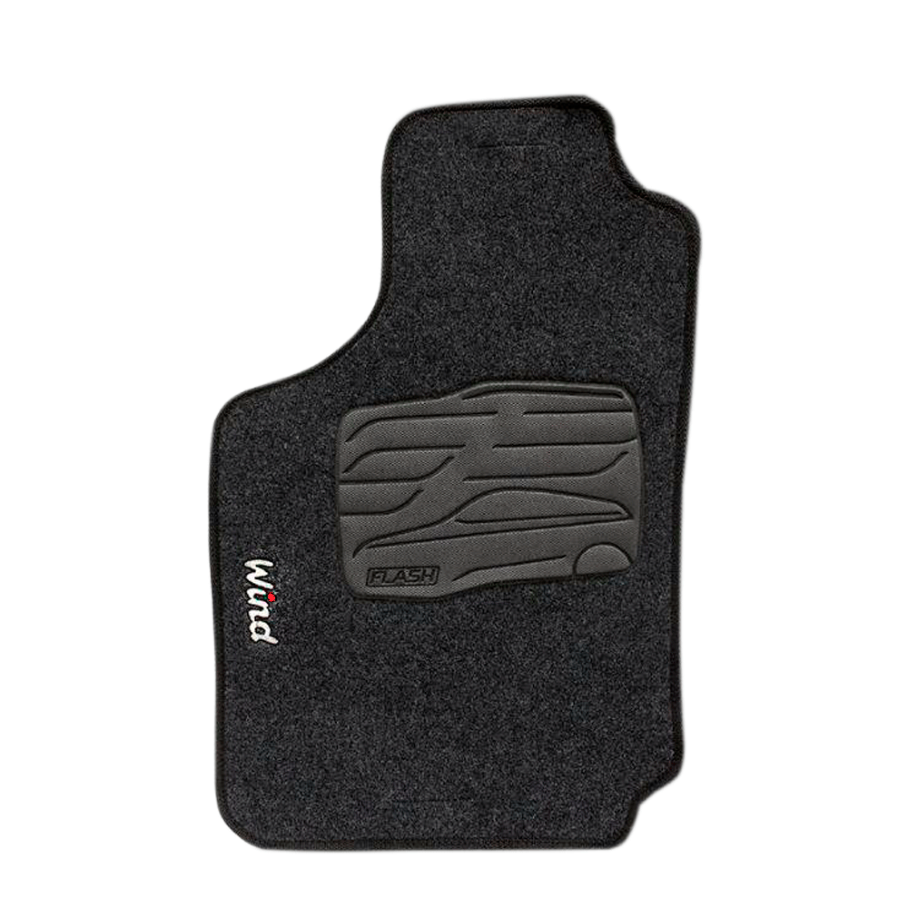 Jogo De Tapete Carpete Para Chevrolet Corsa Wind 94 Grafite