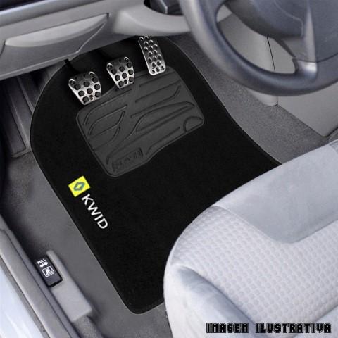 Jogo De Tapete Carpete 5 Peças Renault Kwid