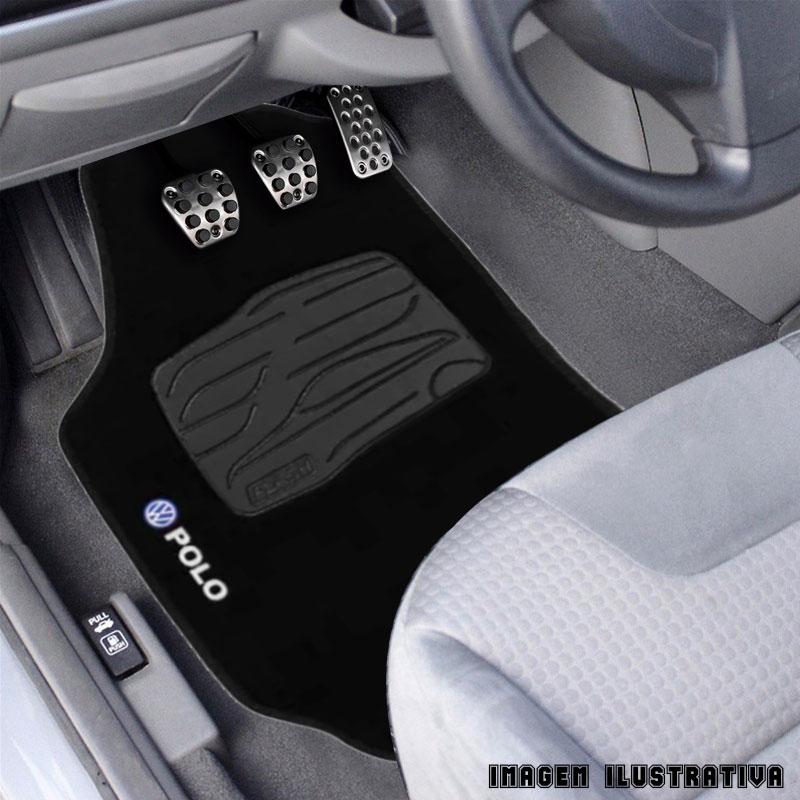 Jogo De Tapete Carpete 5 Peças Volkswagen Polo Sedan