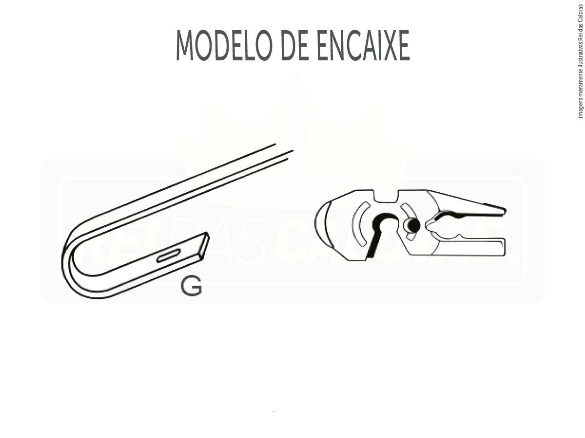 Kit de Palhetas Limpador de Parabrisa Hyundai Santa fé 2013 2014 2015 216 2017 2018