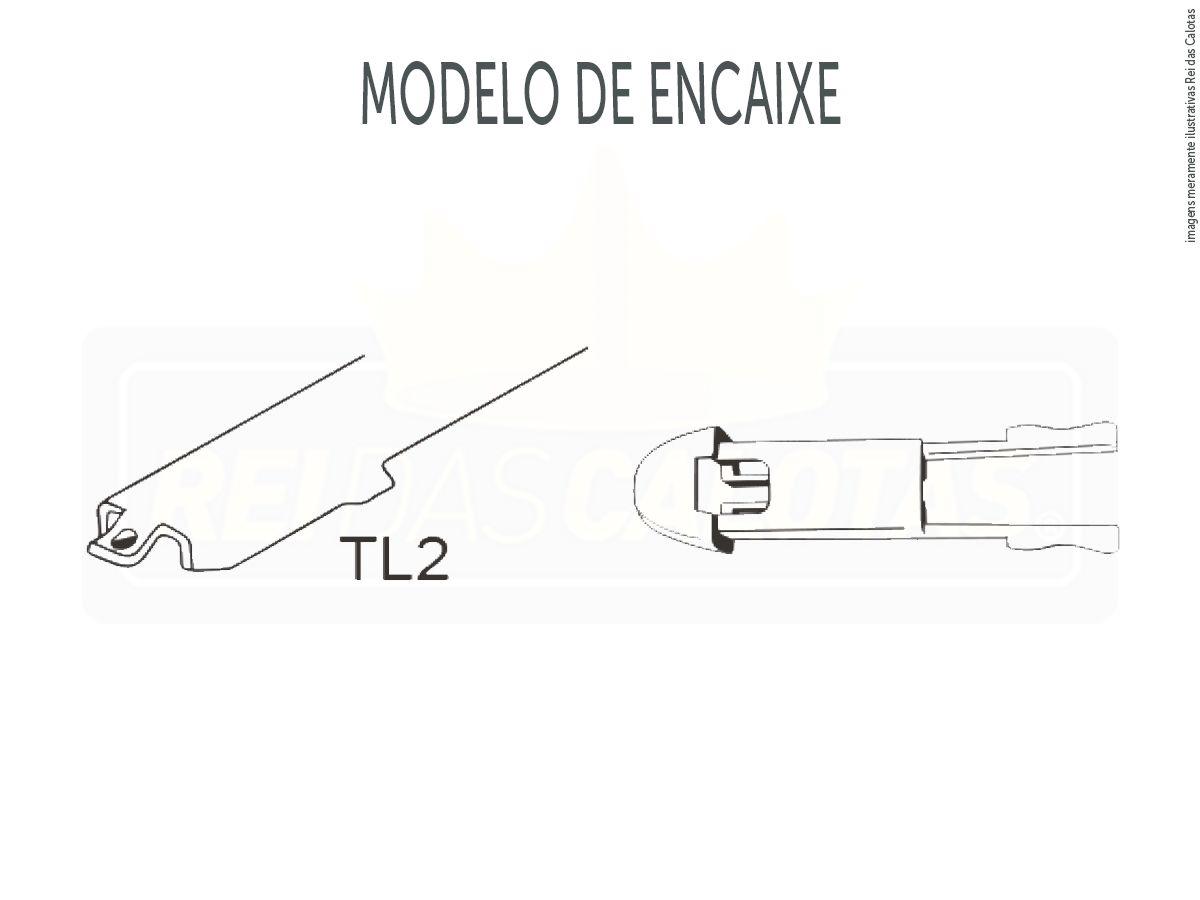 Kit de Palhetas Limpador de Parabrisa Peugeot 307 Ano 2006 2007 2008 2009 2010 2011 2012