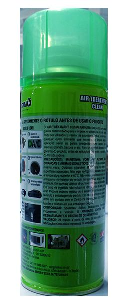 LIMPA AR COND. GRANADA CARRO NOVO 290ML (AIR TREATMENT CLEAN) RADNAQ