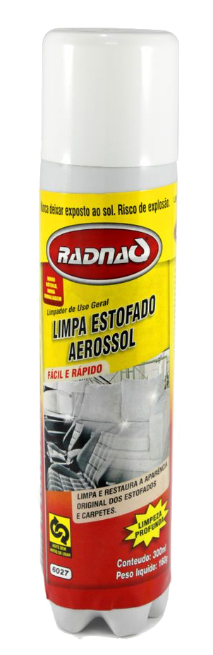 LIMPA ESTOFADO SPRAY 300ML RADNAQ