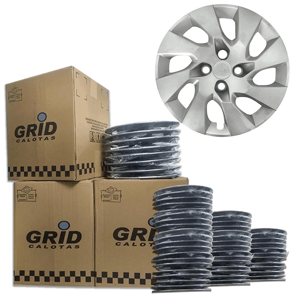 Lote Kit De Calotas Para Revenda Com 12pçs Aro 13 Grid G140k