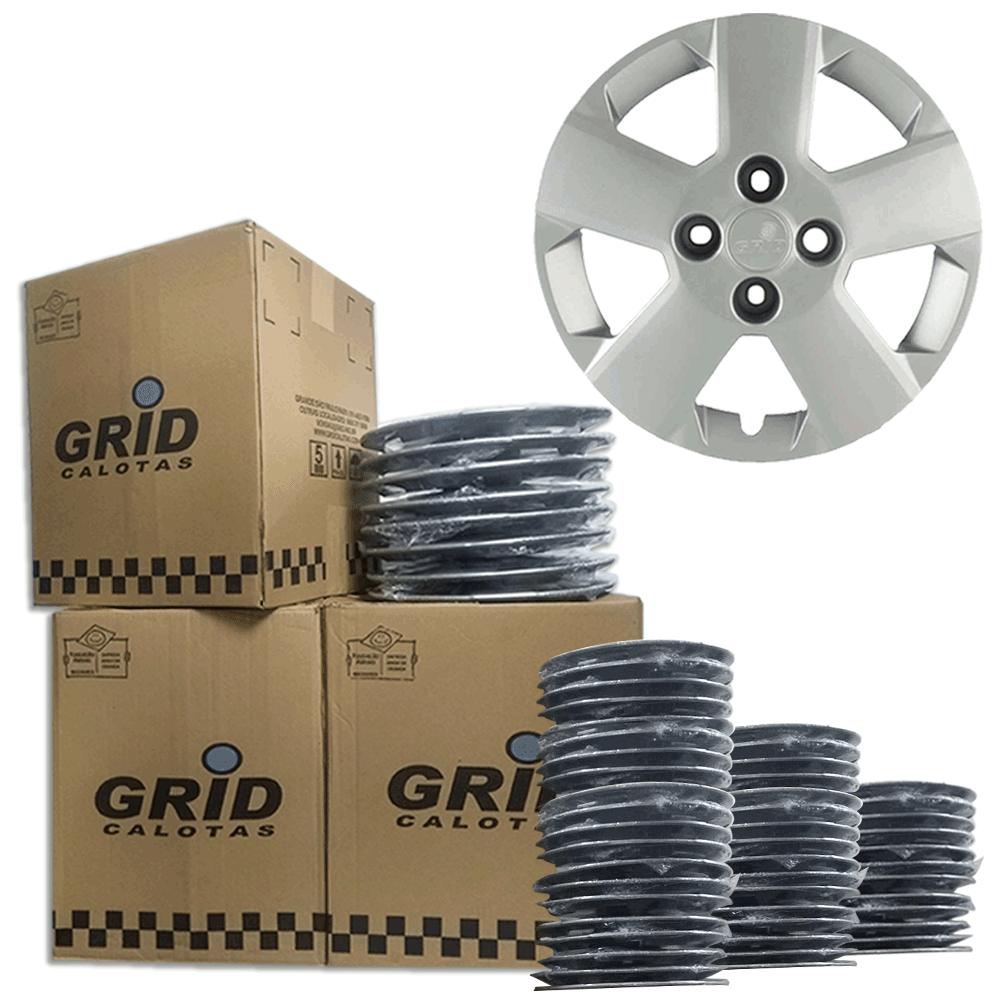 Lote Kit De Calotas Para Revenda Com 12pçs Aro 14 Grid G087k