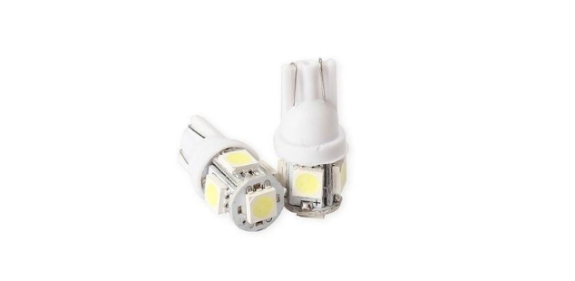 Par de Led Super Branco 5 Pingos Santo Andre - ABC - SP